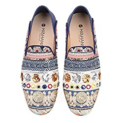 Mixed Colors Sequin Men Loafers