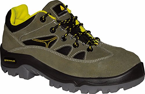Delta plus calzado - Zapato serraje aterciopelado mesh suela poliuretano 2d 41 verde/negro
