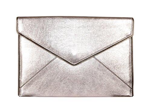 REBECCA MINKOFF Borsa Nera Stelle Argento Glitter HH17GGSC17001 Silber_silber, Silber