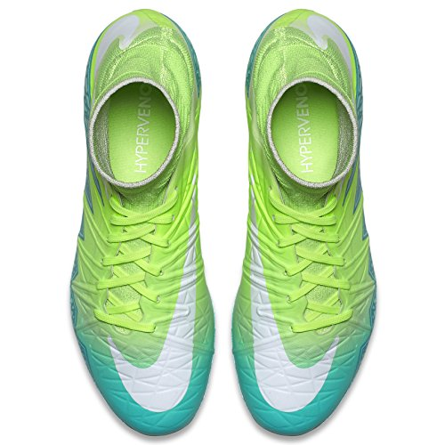 Green Turquoise Ground II Womens Hypervenom White Hyper Green Rage Ghost Firm Soccer Cleats Phantom NIKE FG tw76q1YUU