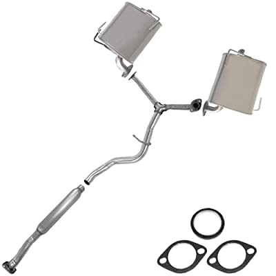 Resonator Pipe Muffler Exhaust System fits: 2009-13 Forester 08-11 Impreza 2.5L: Automotive