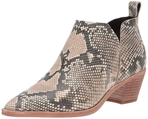 Dolce Vita Women's Sonni Ankle Boot, Snake Print Embossed Leather, 10 M ()