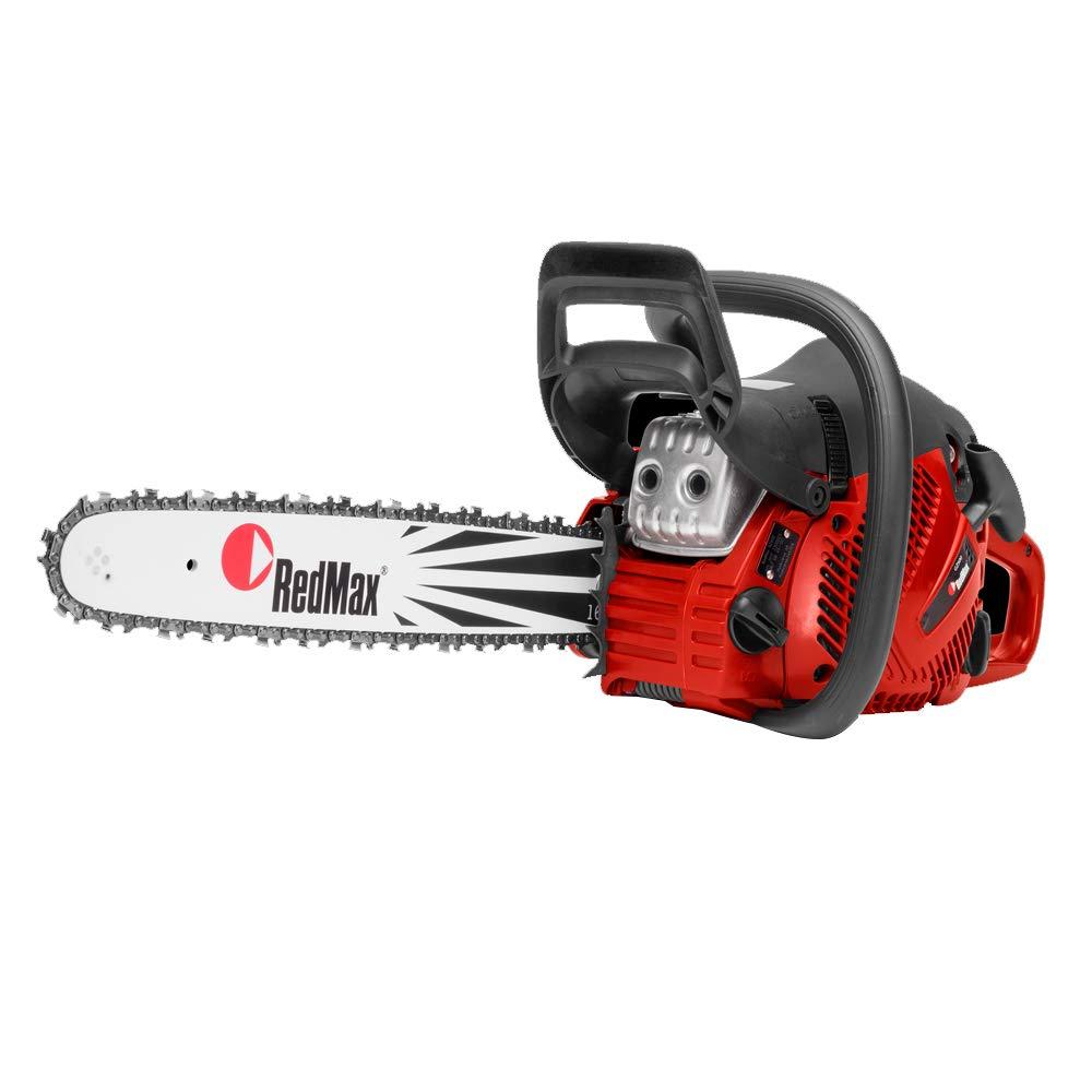 RedMax OEM GZ500 18'' Bar .050 .325 72 DL 50.2cc 3.22HP Anti Vibration 2 Stroke Chainsaw 967684501