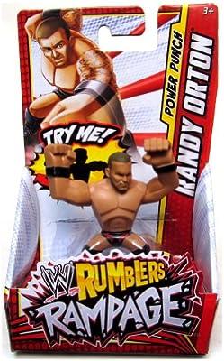 Amazon Com Randy Orton Black Red Punch Wwe Rumblers