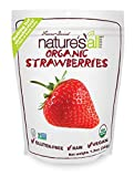 Natierra, Nature's All Foods Freeze-Dried Strawberries, 1.2 Ounce