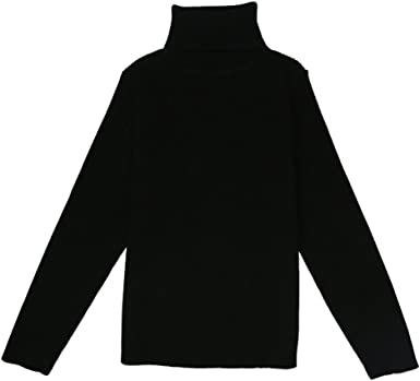 MADE IN USA KIDS BOYS N GIRLS COTTON SPANDEX TURTLENECK TOPS MANY COLORS 2-14