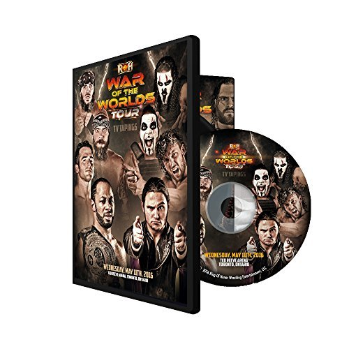 Official ROH & NJPW - Ring of Honor War of the Worlds - Toronto 2016 Event DVD