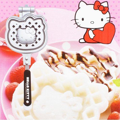 [Hello Kitty] Carus eats cake waffle maker - Hello Waffle Maker Kitty