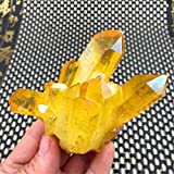 DIYARTS Yellow electroplated Crystal Cluster Cure