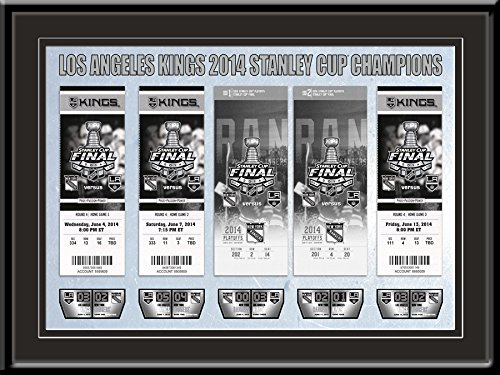 2014 NHL Stanley Cup Final Tickets to History Framed Print - Los Angeles Kings