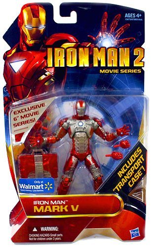Iron Man 2 Movie Series 6 Inch Exclusive Action Figure Iron Man Mark V