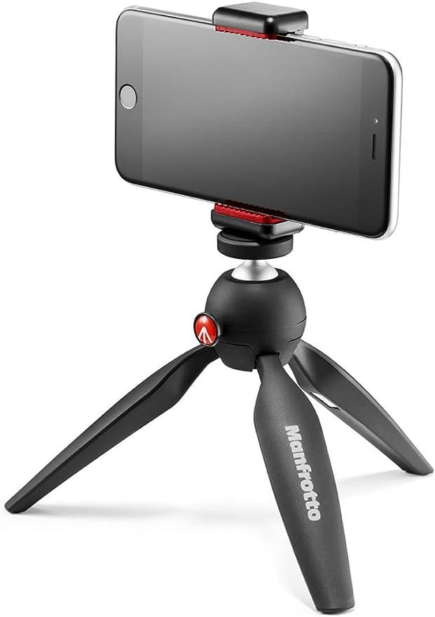 Manfrotto Pixi Smart - Mini trípode para smartphone, negro: Amazon ...