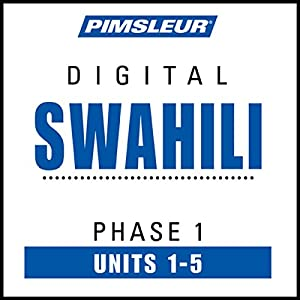 Swahili Phase 1, Unit 01-05 Audiobook