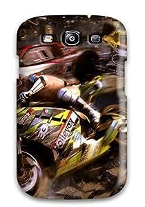 Galaxy S3 Motorstorm Apocalypse Print High Quality Tpu Gel Frame Case Cover