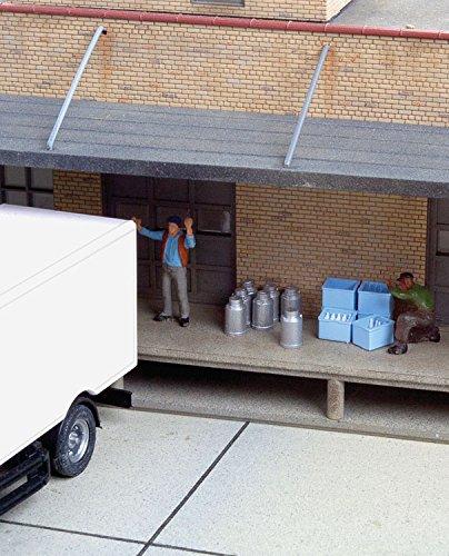- Walthers SceneMaster HO Scale Milk Cans, Bottles & Cases (Loading Dock Details)