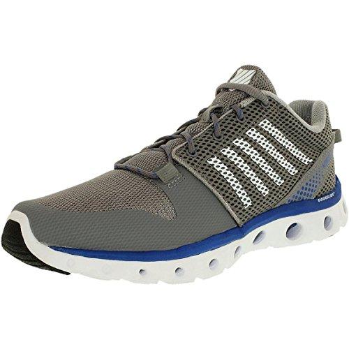 K-Swiss 'MCMFXLITE' Athletic Shoe' Stringray/Classic Blue/White 10