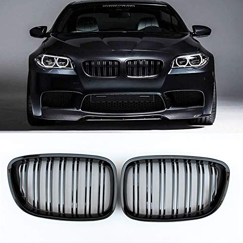 (Fandixin F07 Grille, ABS Front Kidney Grill Front Bumper Hood Grill for BMW 5 Series Gran Turismo F07 535i 535i xDrive 550i 550i xDrive)