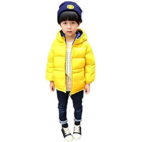 cutelove chaqueta abrigo ligero niños niño niña plumífero con capucha – chaqueta de manga larga de