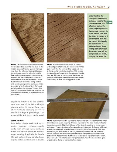Understanding Wood Finishing: How to Select and Apply the Right Finish (Fox Chapel Publishing) Practical & Comprehensive with 300+ Color Photos and 40+ Reference Tables & Troubleshooting Guides by Design Originals (Image #2)