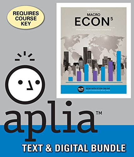 Bundle: ECON MACRO, 5th + Aplia, 1 term Printed Access Card