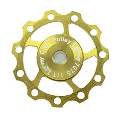 Lerway Aluminium Jockey Wheel Rear Derailleur Pulley SHIMANO SRAM 11T Golden