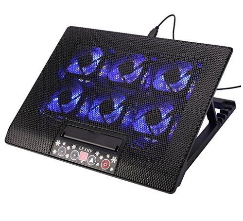6 fan laptop cooler - 1