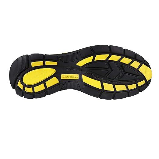 7 UK Goodyear Workwear GYSHU3054 Mens Lightweight Work Safety Sporty Athletic Trainer Non Metallic Composite Toe Cap /& Midsole S3P//SRC//HRO 41 EU Black