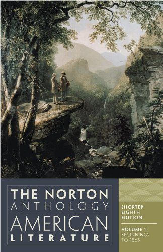 Norton Anthol.Of Amer.Lit,Shorter,V.1