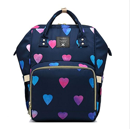 Kids Shining Out Mummy Bag Multifunctional Large Capacity Bag Fashion Mother-infant Package, April 3