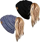 Love beanies but don't always love wearing your hair down? Our new BeanieTail beanies will be the perfect accessory for you. Our BeanieTail hats feature your favorite beanie that you know and love with an added hidden ponytail opening at the top to w...
