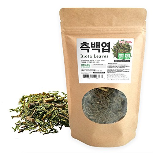 [Medicinal Korean Herb] Biota Leaves (Leafy Twig of Arborvitae/Thuja / Ya/측백엽) Dried Bulk Herbs 2oz (57g)