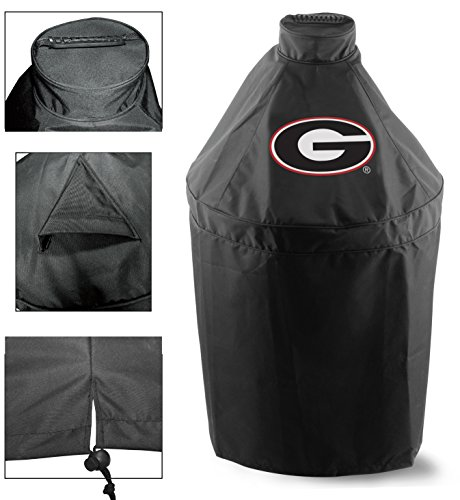 Holland Covers GC-K-GA Officially Licensed University of Georgia Kamado Style Grill Cover ()