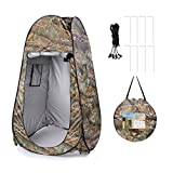 Graceug Waterproof Portable Changing Room,Outdoor Pop-up Room Tent Camping Shower Toilet Beach Park