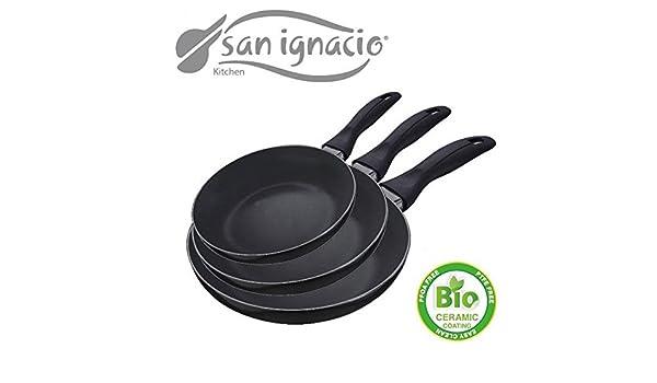 exclusivo Set de 3 sartenes SAN ignacio de Bio cerámica ...