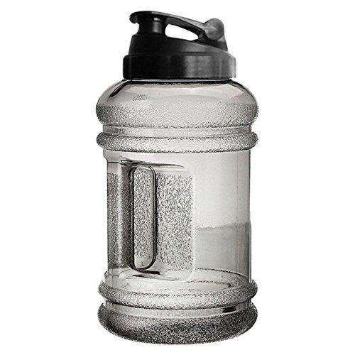 Big Large BPA Free Sport Gym Training Drink Water Bottle Cap Kettle Workout 2.2L