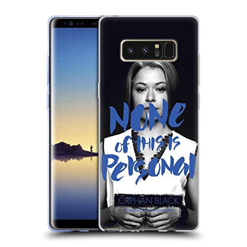 Official Orphan Black Rachel Duncan Sestras Soft Gel Case for Samsung Galaxy Note8 / Note 8