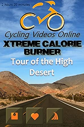 Xtreme Calorie Burner! Tour of the High Desert, Nevada. Indoor ...