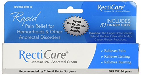 Recticare Pain Relief for Hemorrhoids and Other Anorectal Di