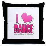 CafePress - I Love Dance - Decor Throw Pillow (18''x18'')