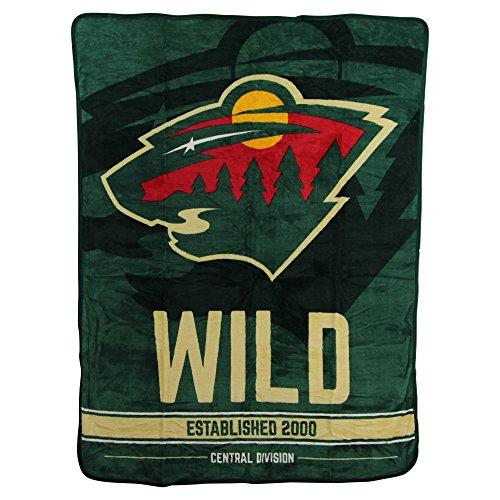 The Northwest Company NHL Breakaway Super Soft Plush Throw Blanket (Minnesota Wild)