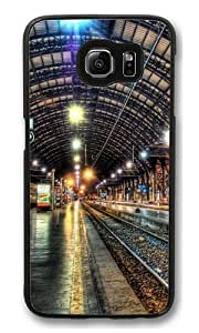 Samsung Galaxy S6 Cases & Covers -Inside A Train Station Polycarbonate Hard Case Back Cover for Samsung S6/Samsung Galaxy S6 Black by lolosakes