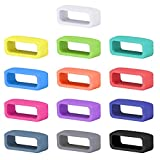 SKYLET Compatible with Garmin Vivofit 1 Vivofit 2 Secure Rings, Silicone Fastener Loops for Garmin Vivofit and Vivofit 2 (Wristbands Not Included)