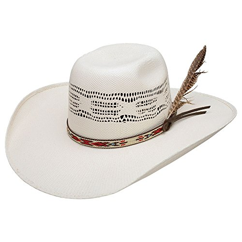 (Resistol Boys Young Gun Jr 4 Brim Straw Cowboy Hat OS Natural )