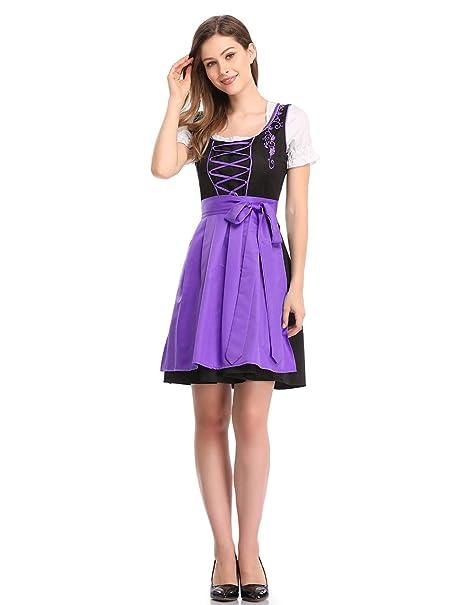 Clearlove - Delantal para vestidos de mujer 82a5702144f