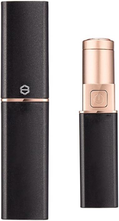 xy Lápiz Labial eléctrica Mini afeitadora Axila Mujer Partes privadas Pierna Yin Cara a Labio Instrumento,Negro,Un tamaño: Amazon.es: Deportes y aire libre