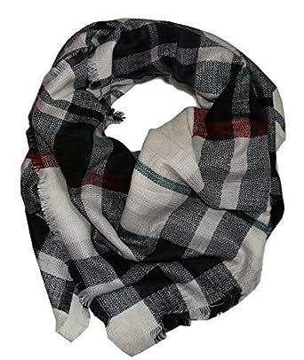 426db831d445 Foulard avec Écossais Tartan Motif - carré - écharpe   Coffrage de plafond  XXL étole -