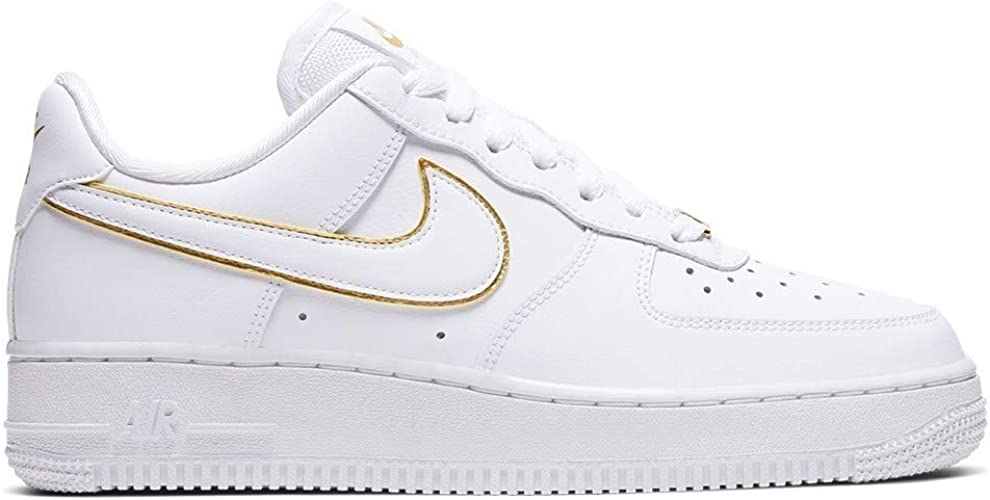 nike air force 1 bianco e oro