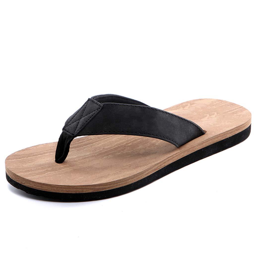 Style 2 AX-ATG Flip-Flops Summer Mens Beach Shoes Mens Slippers Sandals Non-Slip Slippers