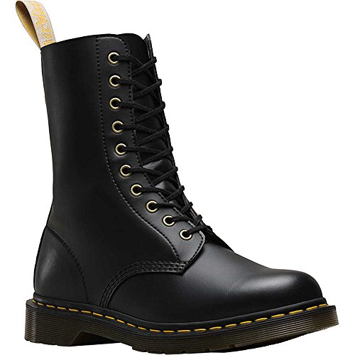 10 Eye Boot - Dr. Martens - Unisex-Adult 1490 Vegan 10 Eye Boot, Size: 7 D(M) US / 6 F(M) UK / 8 B(M) US, Color: Black Felix Rub Off
