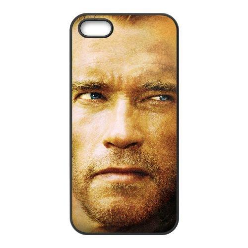 Arnold Schwarzenegger 002 coque iPhone 5 5S cellulaire cas coque de téléphone cas téléphone cellulaire noir couvercle EOKXLLNCD21720